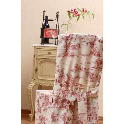 Sukienka na krzesło w kolekcji Avinon, tkanina: 132-15