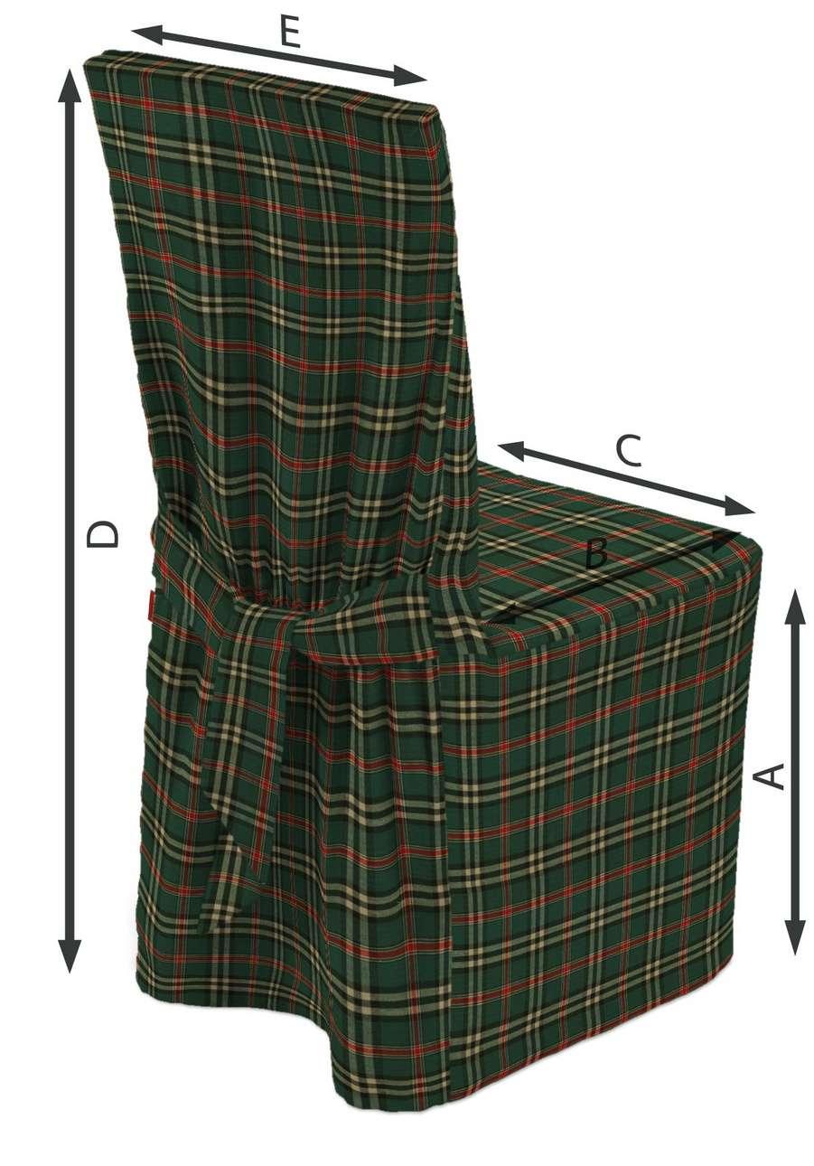 Sukienka na krzesło w kolekcji Christmas, tkanina: 142-69