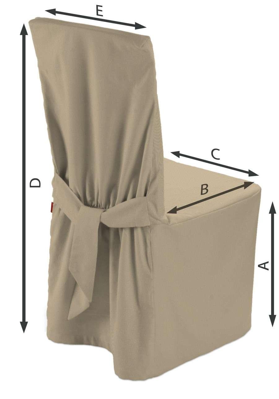 Sukienka na krzesło w kolekcji Living II, tkanina: 160-82