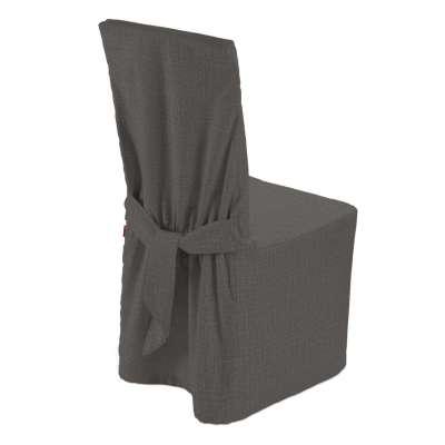 Sukienka na krzesło 161-16 ciemno szary Kolekcja Living II