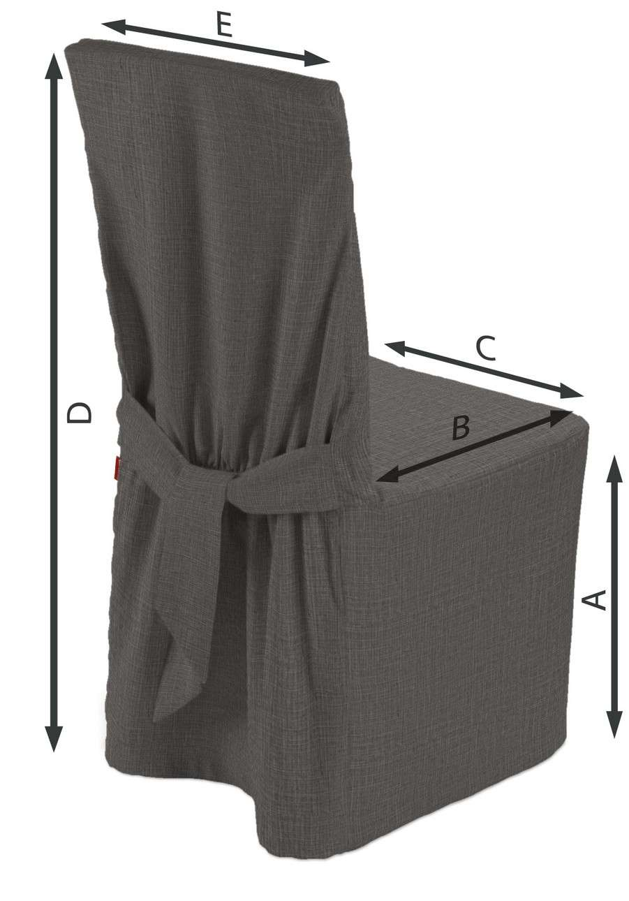 Sukienka na krzesło w kolekcji Living, tkanina: 161-16