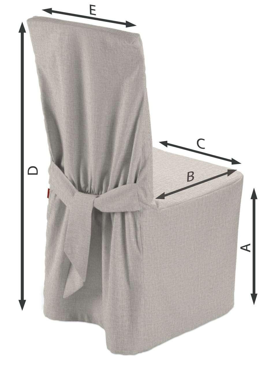 Návlek na stoličku V kolekcii Linen, tkanina: 159-07