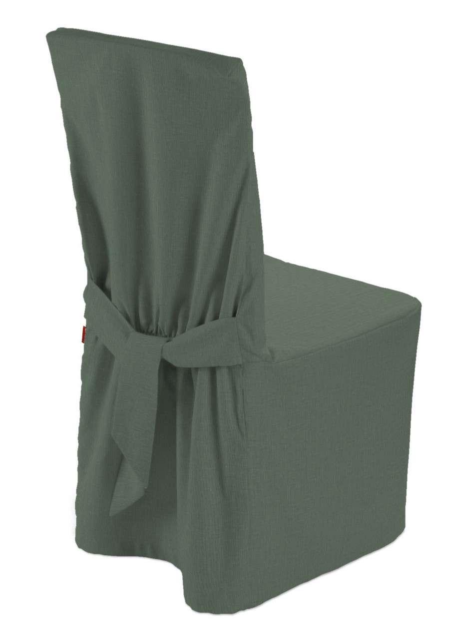 Sukienka na krzesło w kolekcji Linen, tkanina: 159-08