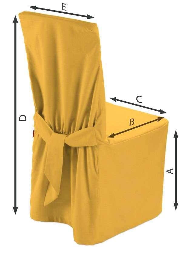 Sukienka na krzesło w kolekcji Loneta, tkanina: 133-40