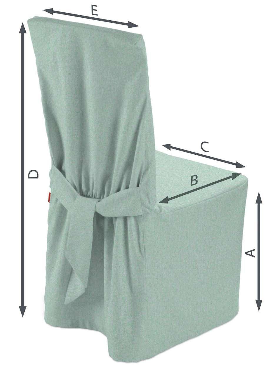 Sukienka na krzesło w kolekcji Living, tkanina: 161-61