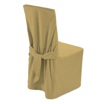Sukienka na krzesło 702-41 zgaszony żółty Kolekcja Cotton Panama
