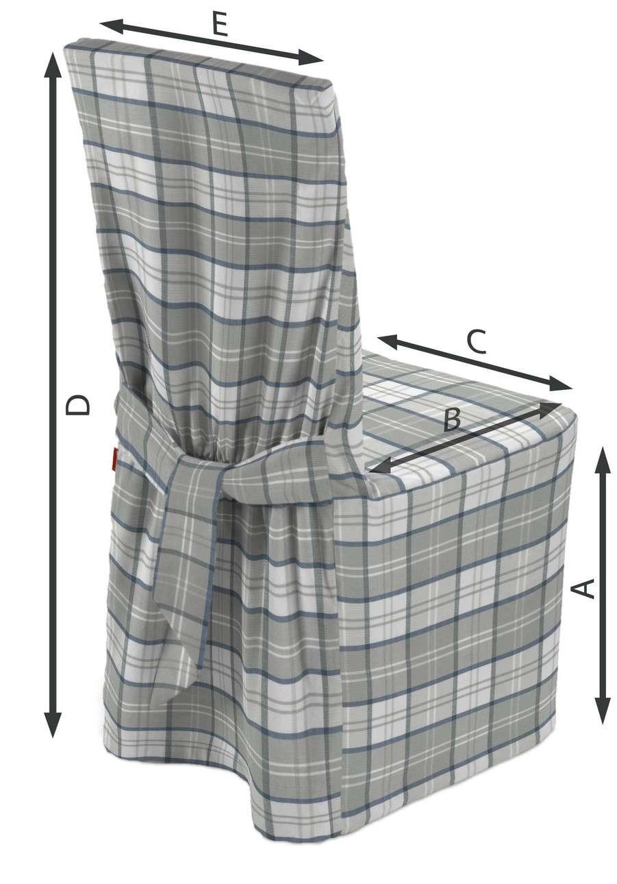 Sukienka na krzesło w kolekcji Bristol, tkanina: 143-65