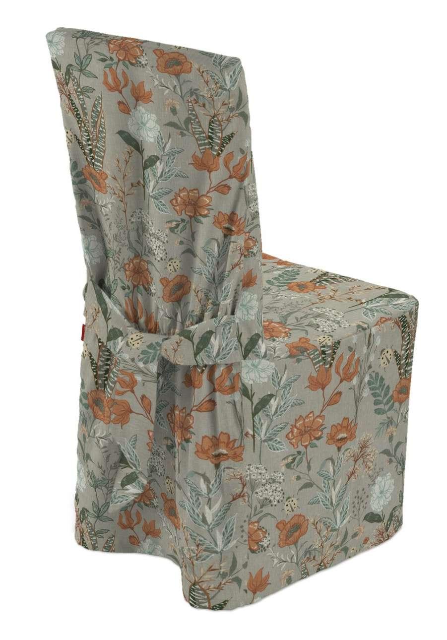 Sukienka na krzesło w kolekcji Flowers, tkanina: 143-70