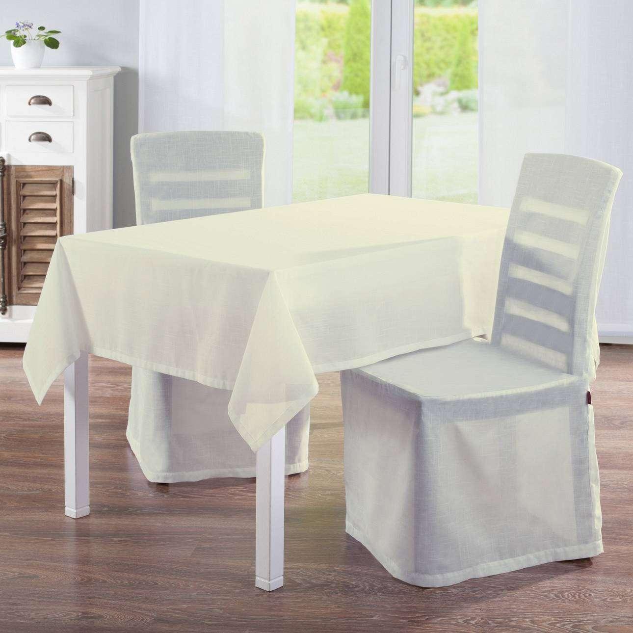 Sukienka na krzesło 45x94 cm w kolekcji Romantica, tkanina: 128-88