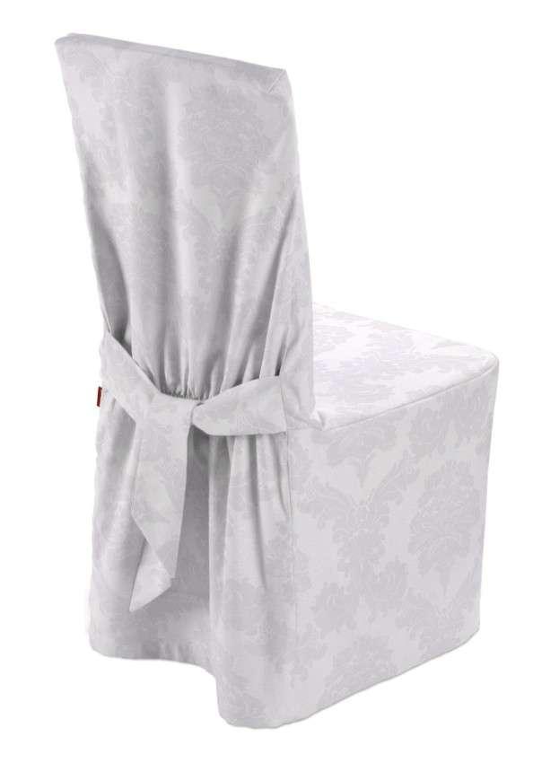 Sukienka na krzesło 45x94 cm w kolekcji Damasco, tkanina: 613-00