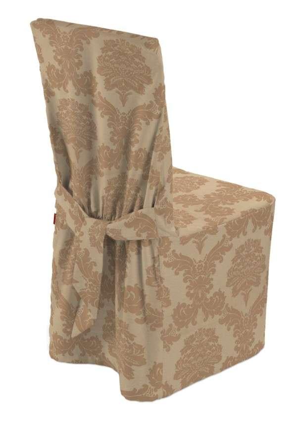 Sukienka na krzesło 45x94 cm w kolekcji Damasco, tkanina: 613-04