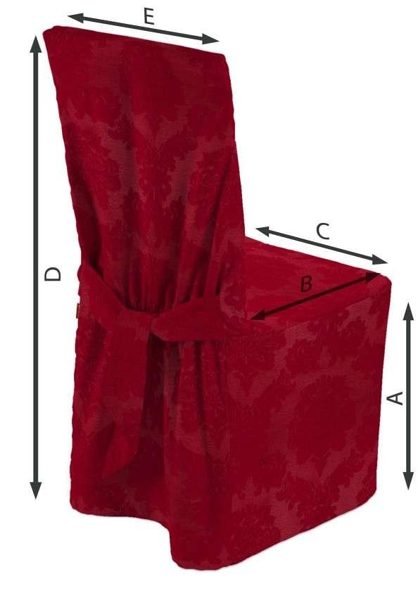 Návlek na stoličku V kolekcii Damasco, tkanina: 613-13