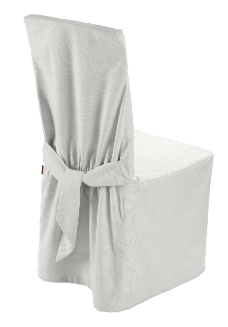 Sukienka na krzesło 45x94 cm w kolekcji Jupiter, tkanina: 127-01