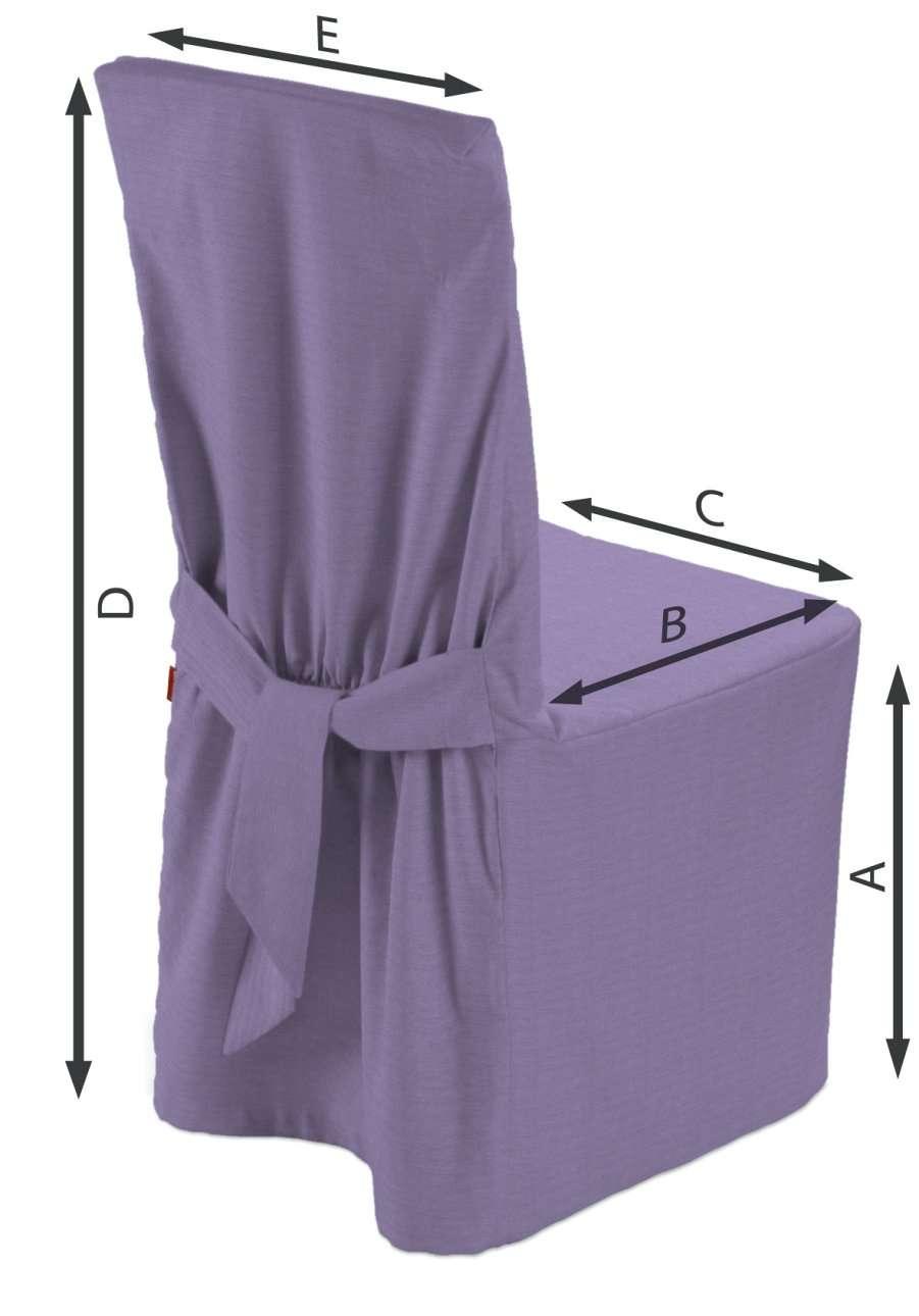 Sukienka na krzesło w kolekcji Jupiter, tkanina: 127-74