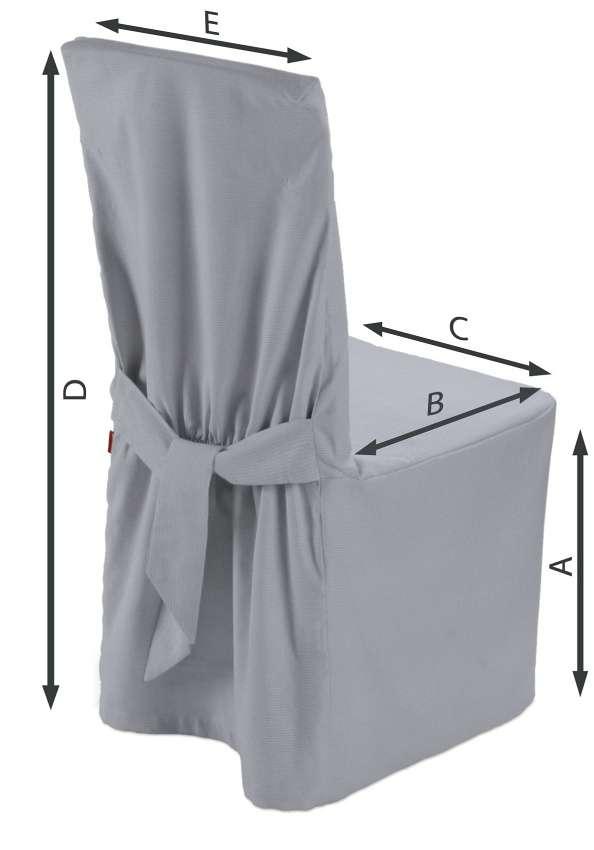 Sukienka na krzesło 45x94 cm w kolekcji Jupiter, tkanina: 127-92