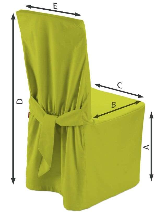 Sukienka na krzesło 45x94 cm w kolekcji Jupiter, tkanina: 127-50