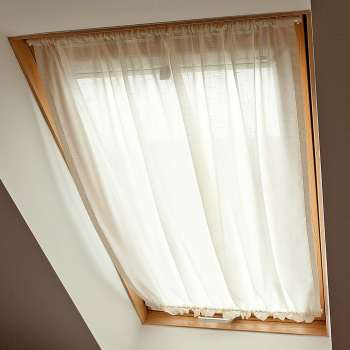 Roof window curtain