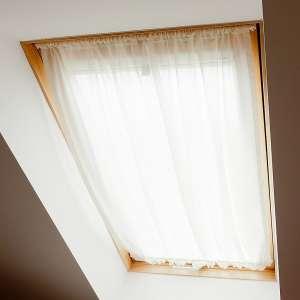 Zasłonka na okno dachowe 110x126+3cm grzywka w kolekcji Romantica, tkanina: 128-77