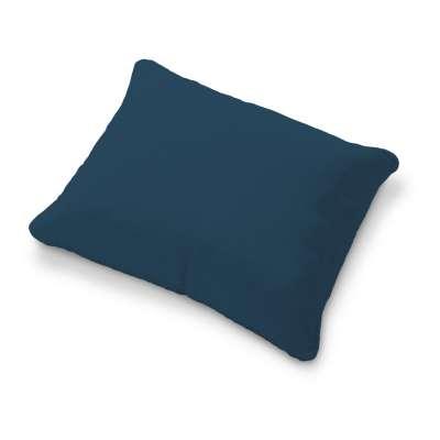 Poťah na vankúš Karlstad 58x48cm 702-30 modrá morská Kolekcia Cotton Panama