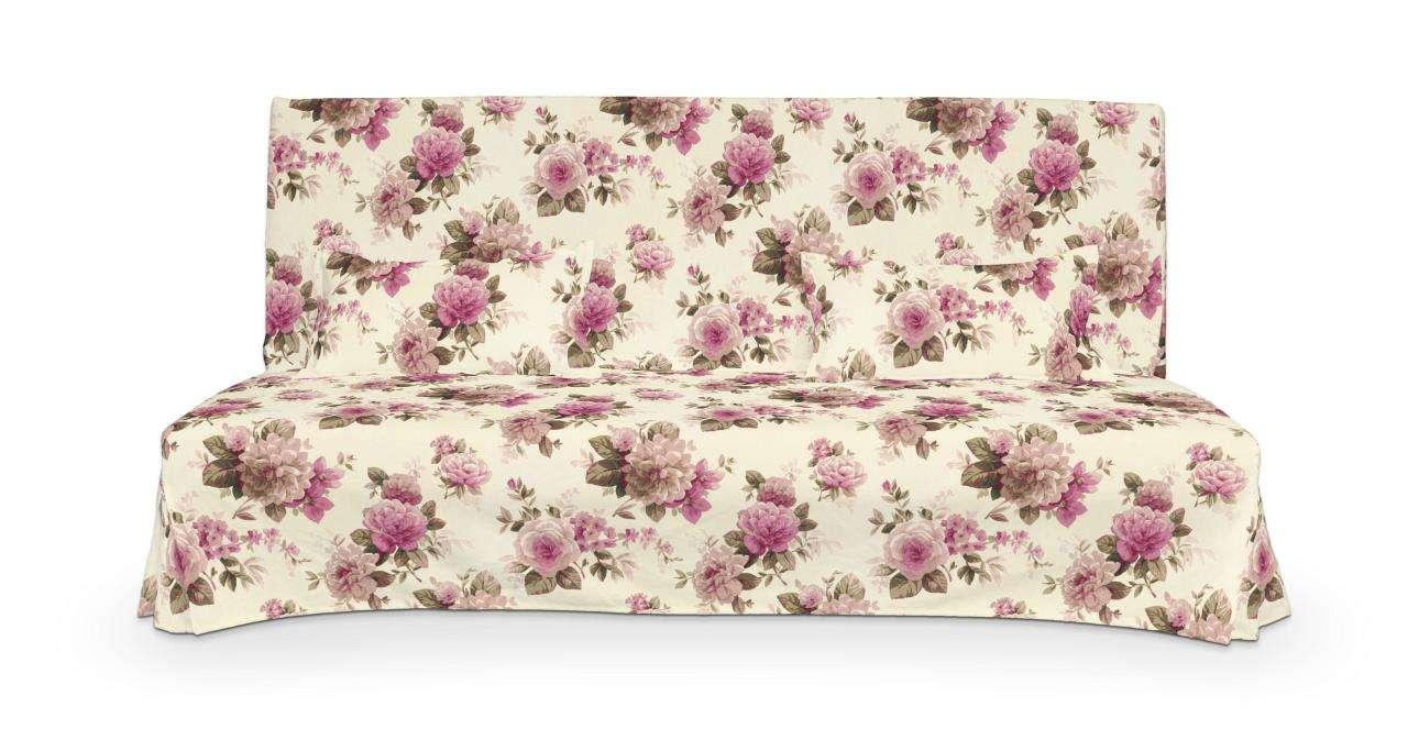 Beddinge einfacher Sofabezug lang mit zwei Kissenhüllen von der Kollektion Mirella, Stoff: 141-07