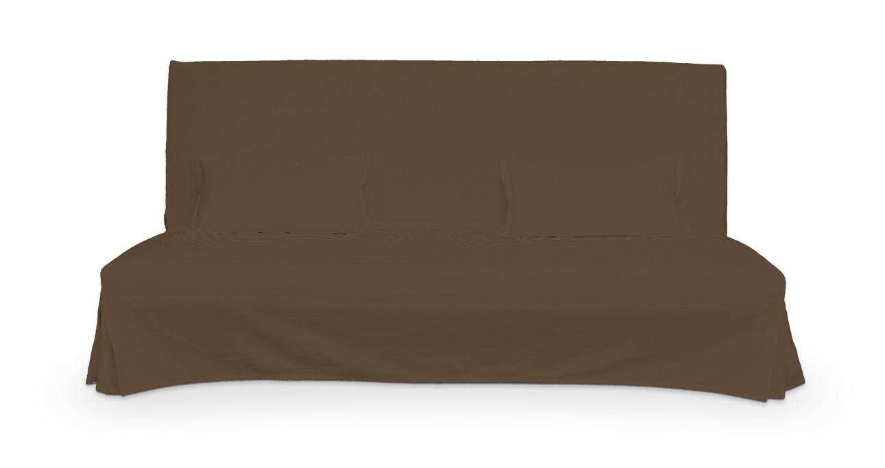 Beddinge einfacher Sofabezug lang mit zwei Kissenhüllen Beddinge von der Kollektion Cotton Panama, Stoff: 702-02
