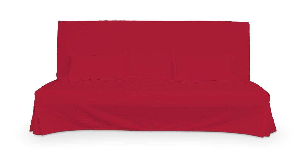 Pokrowiec niepikowany na sofę Beddinge i 2 poszewki w kolekcji Cotton Panama, tkanina: 702-04