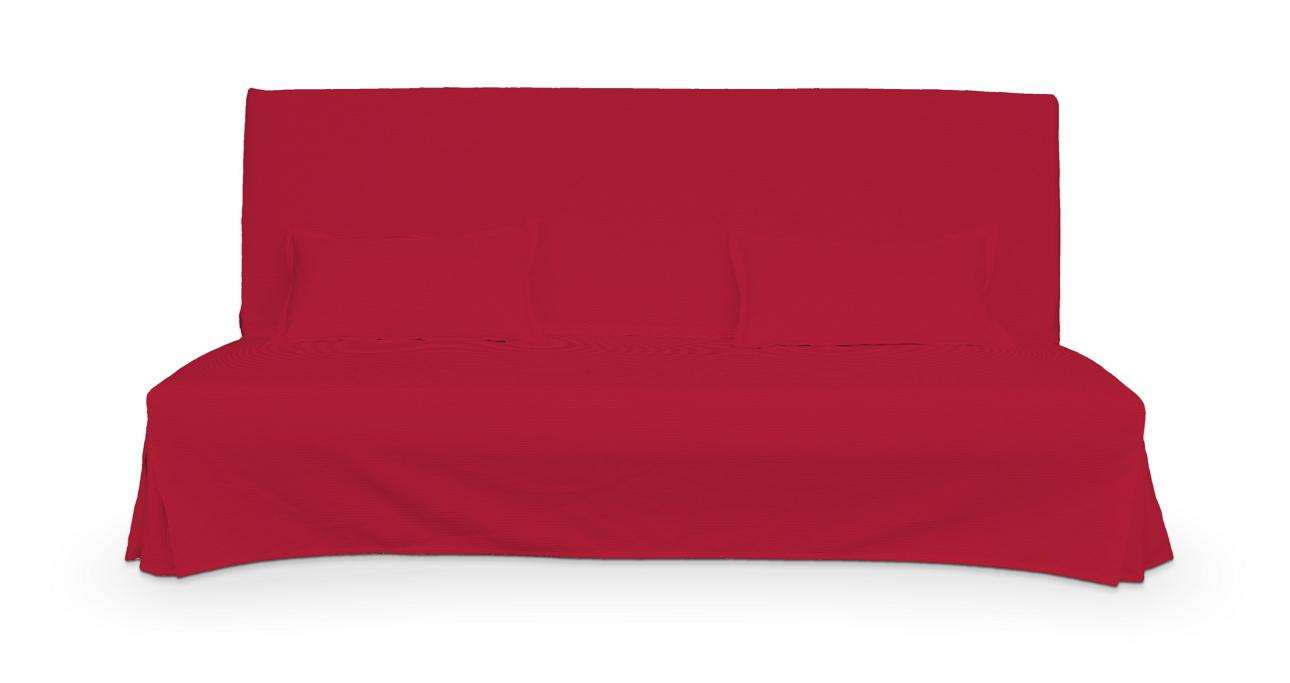 Potah na pohovku Beddinge a  2 potahy na polštáře - jednoduché bez prošití sofa Beddinge v kolekci Cotton Panama, látka: 702-04
