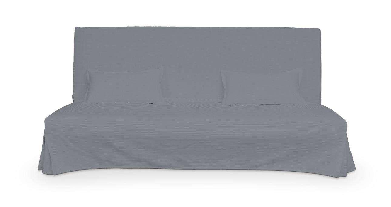 Bezug für Beddinge Sofa, lang mit zwei Kissenhüllen von der Kollektion Cotton Panama, Stoff: 702-07