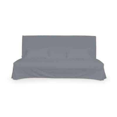 Beddinge einfacher Sofabezug lang mit zwei Kissenhüllen von der Kollektion Cotton Panama, Stoff: 702-07
