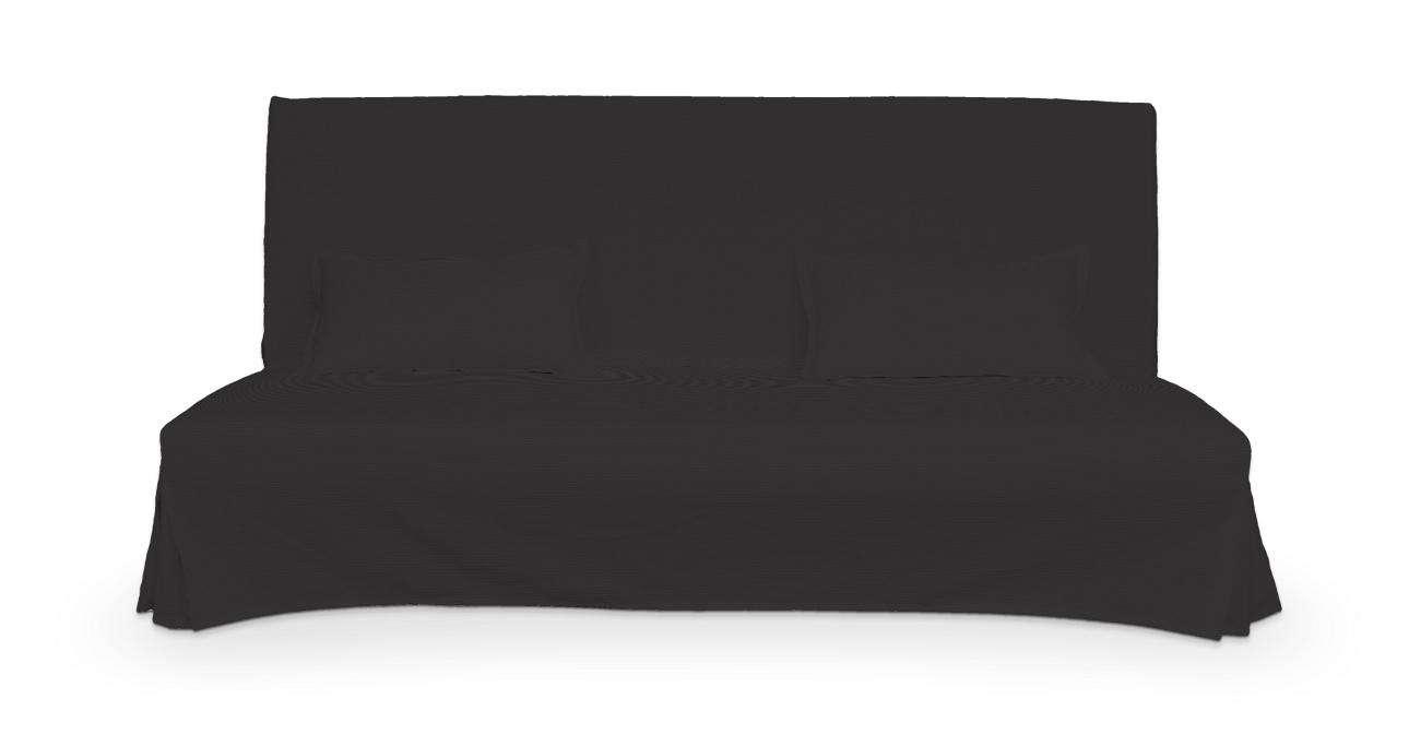 Pokrowiec niepikowany na sofę Beddinge i 2 poszewki w kolekcji Cotton Panama, tkanina: 702-08