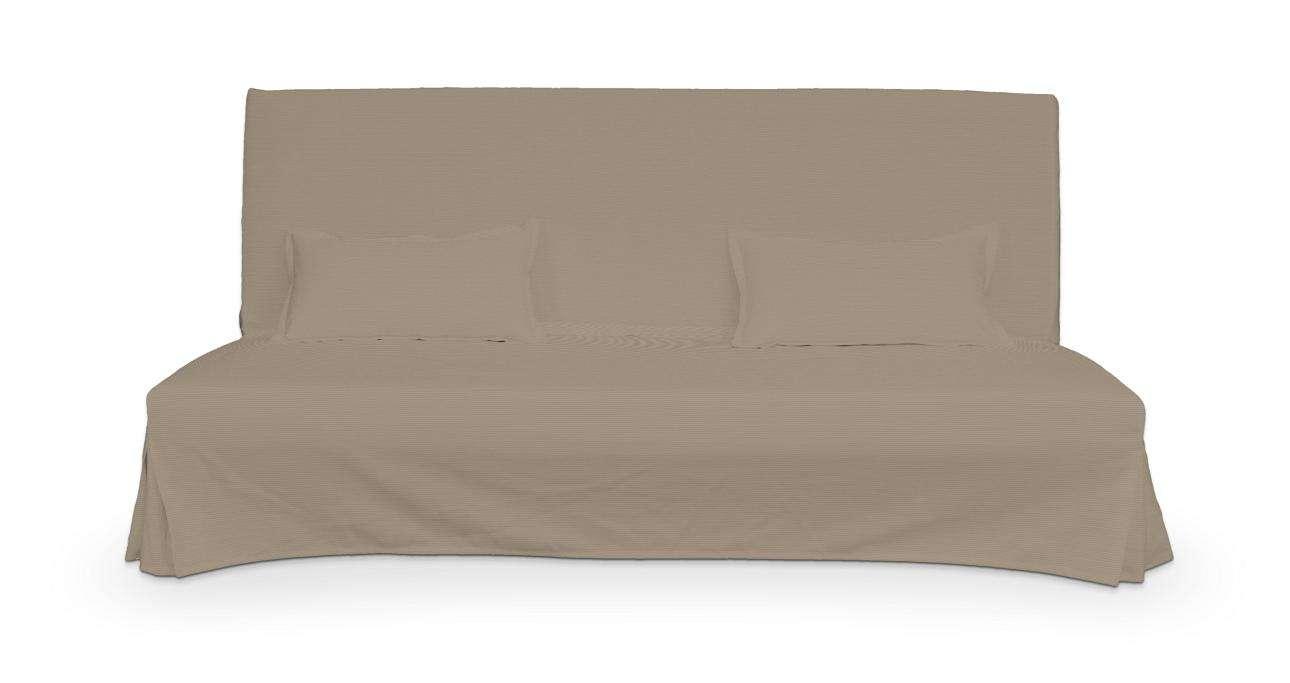 Pokrowiec niepikowany na sofę Beddinge i 2 poszewki sofa Beddinge w kolekcji Cotton Panama, tkanina: 702-28