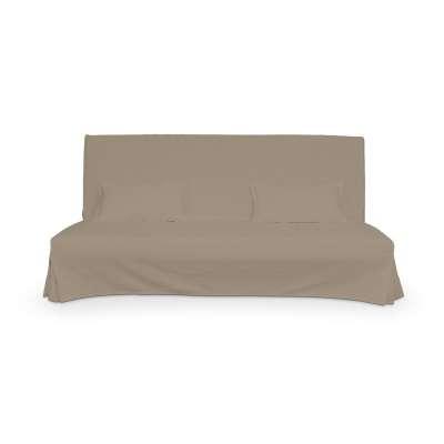 Bezug für Beddinge Sofa, lang mit zwei Kissenhüllen von der Kollektion Cotton Panama, Stoff: 702-28