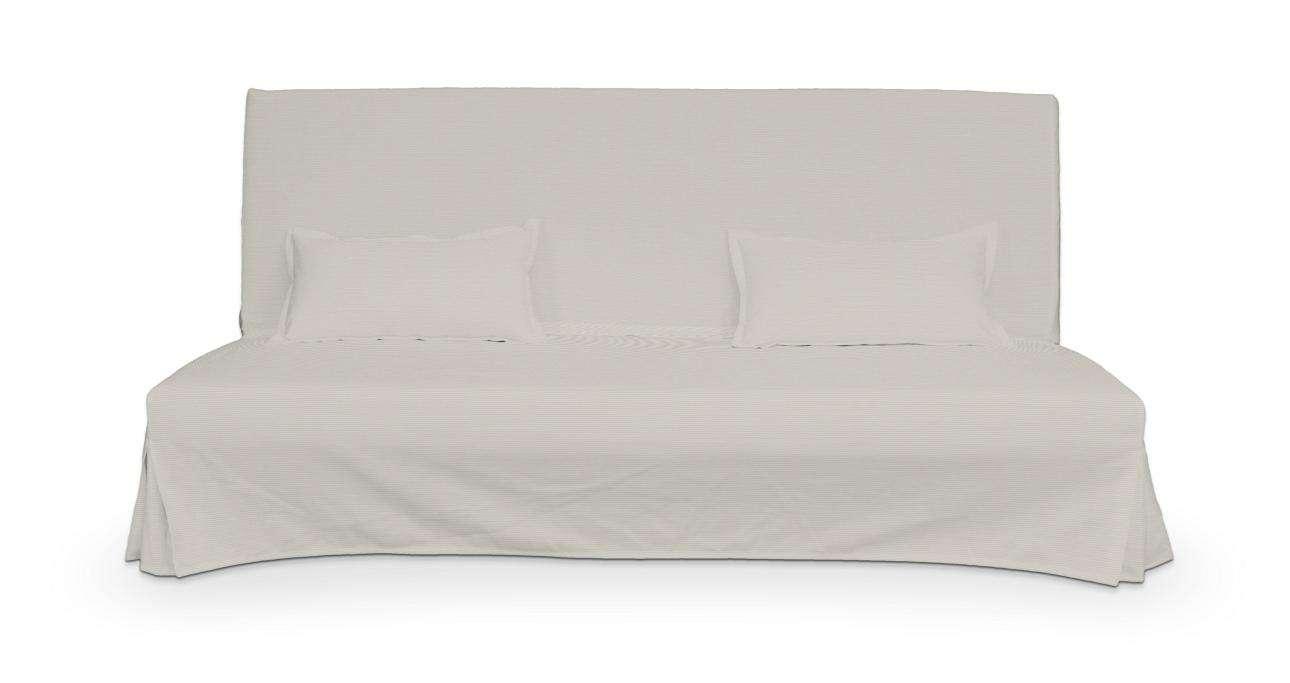 Pokrowiec niepikowany na sofę Beddinge i 2 poszewki sofa Beddinge w kolekcji Cotton Panama, tkanina: 702-31