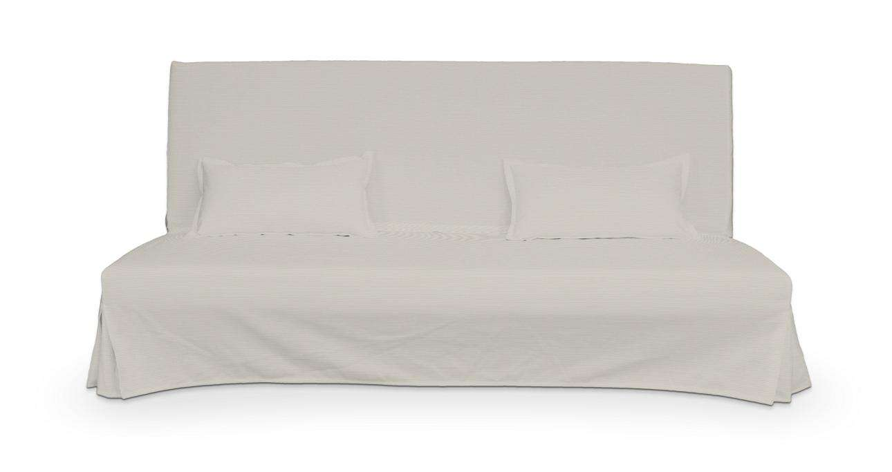 Potah na pohovku Beddinge a  2 potahy na polštáře - jednoduché bez prošití sofa Beddinge v kolekci Cotton Panama, látka: 702-31