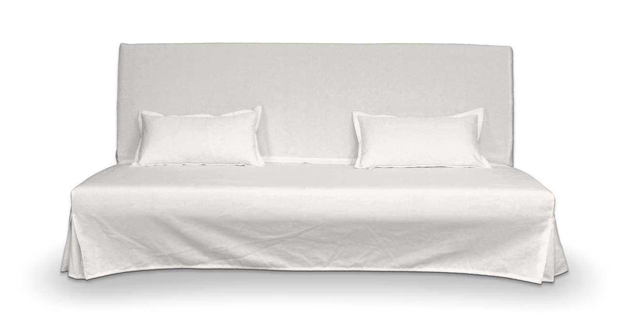 Bezug für Beddinge Sofa, lang mit zwei Kissenhüllen von der Kollektion Cotton Panama, Stoff: 702-34