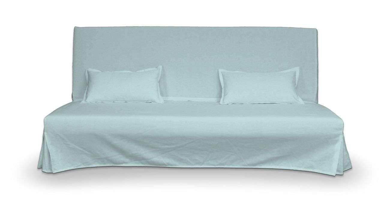 Pokrowiec niepikowany na sofę Beddinge i 2 poszewki sofa Beddinge w kolekcji Cotton Panama, tkanina: 702-10