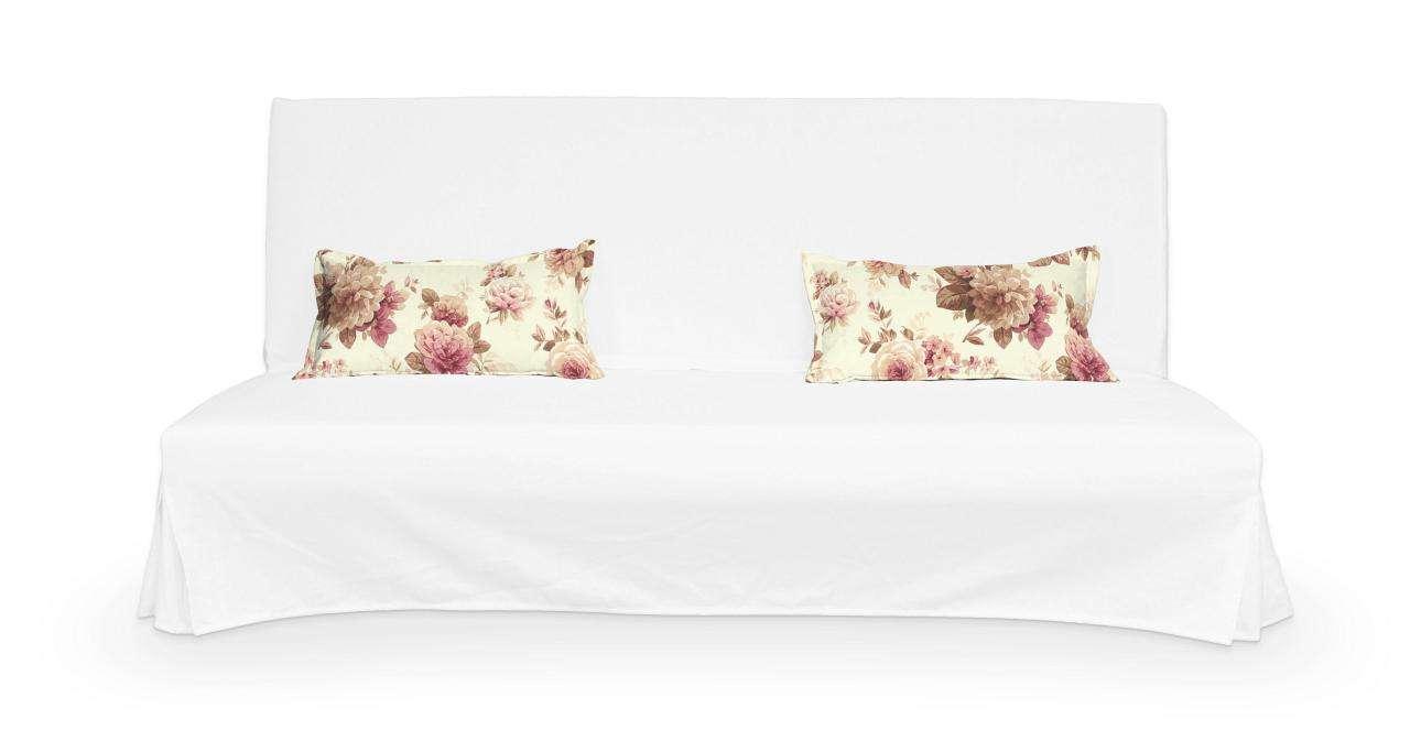 2 poszewki niepikowane na poduszki Beddinge poduszki Beddinge w kolekcji Mirella, tkanina: 141-06