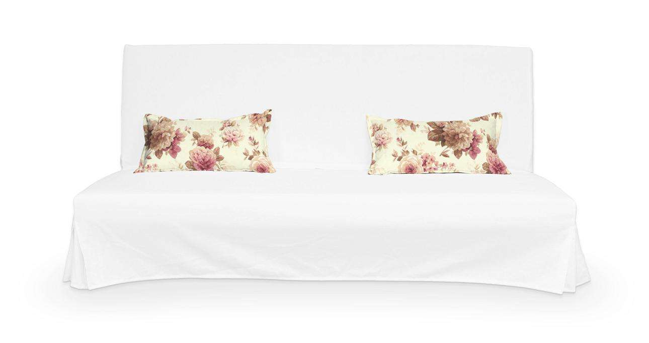2 potahy na polštáře pohovky Beddinge - jednoduché bez prošití poduszki Beddinge v kolekci Mirella, látka: 141-06