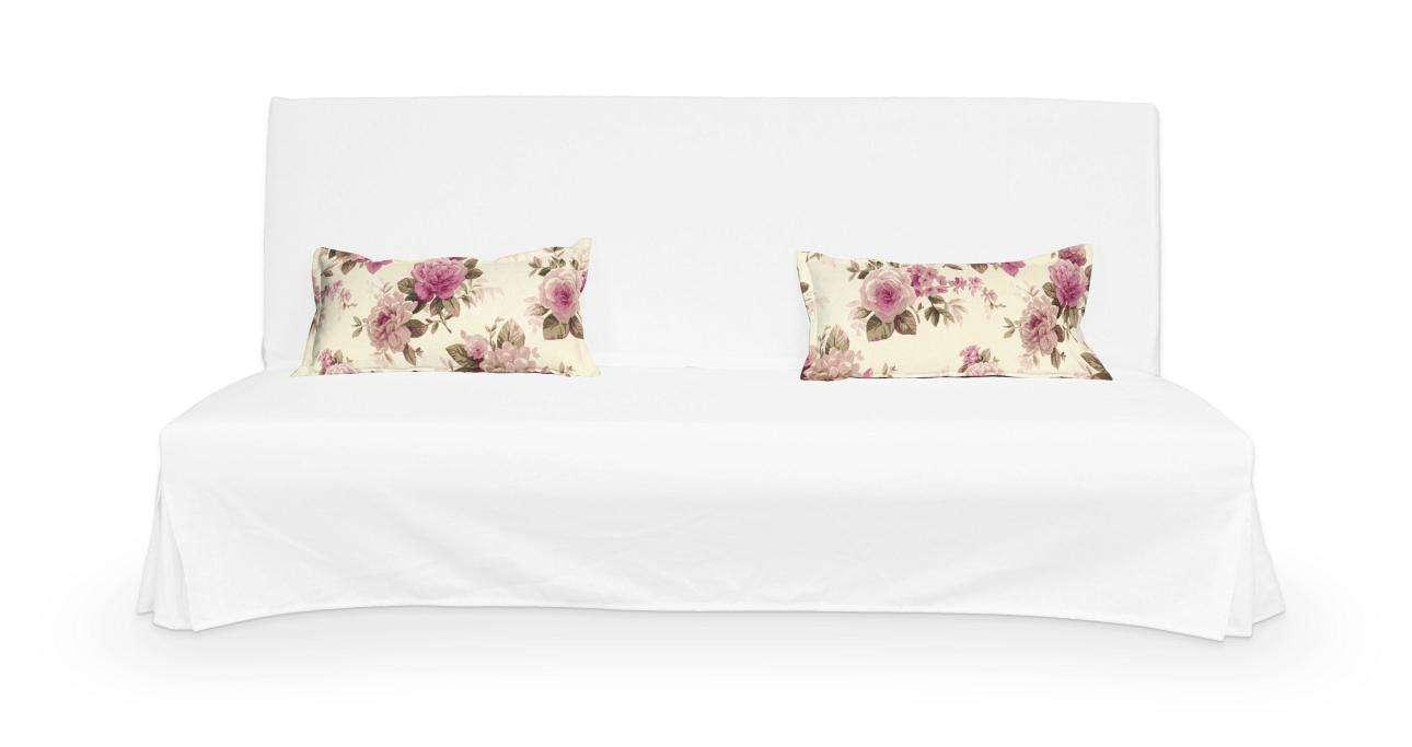 2 poszewki niepikowane na poduszki Beddinge poduszki Beddinge w kolekcji Mirella, tkanina: 141-07