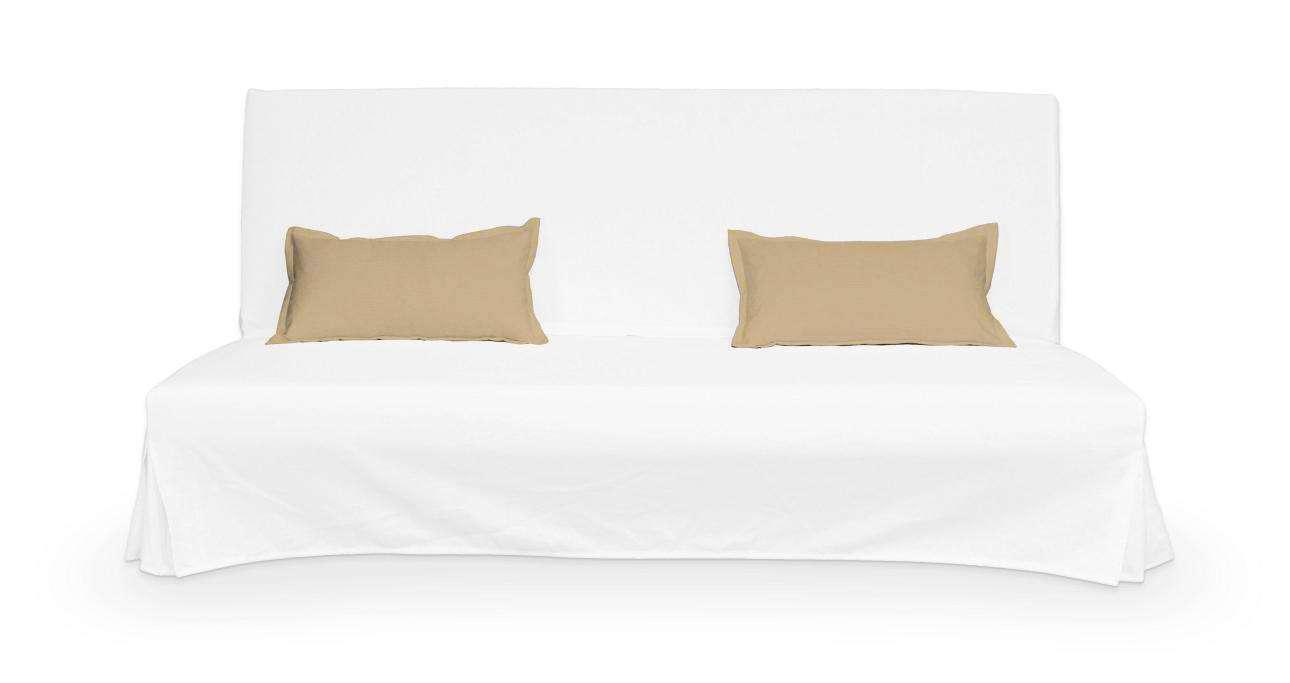 2 poszewki niepikowane na poduszki Beddinge poduszki Beddinge w kolekcji Cotton Panama, tkanina: 702-01
