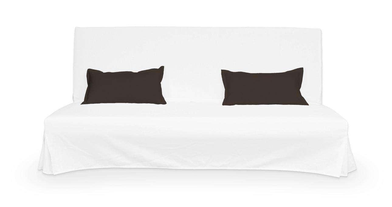 2 potahy na polštáře pohovky Beddinge - jednoduché bez prošití poduszki Beddinge v kolekci Cotton Panama, látka: 702-03