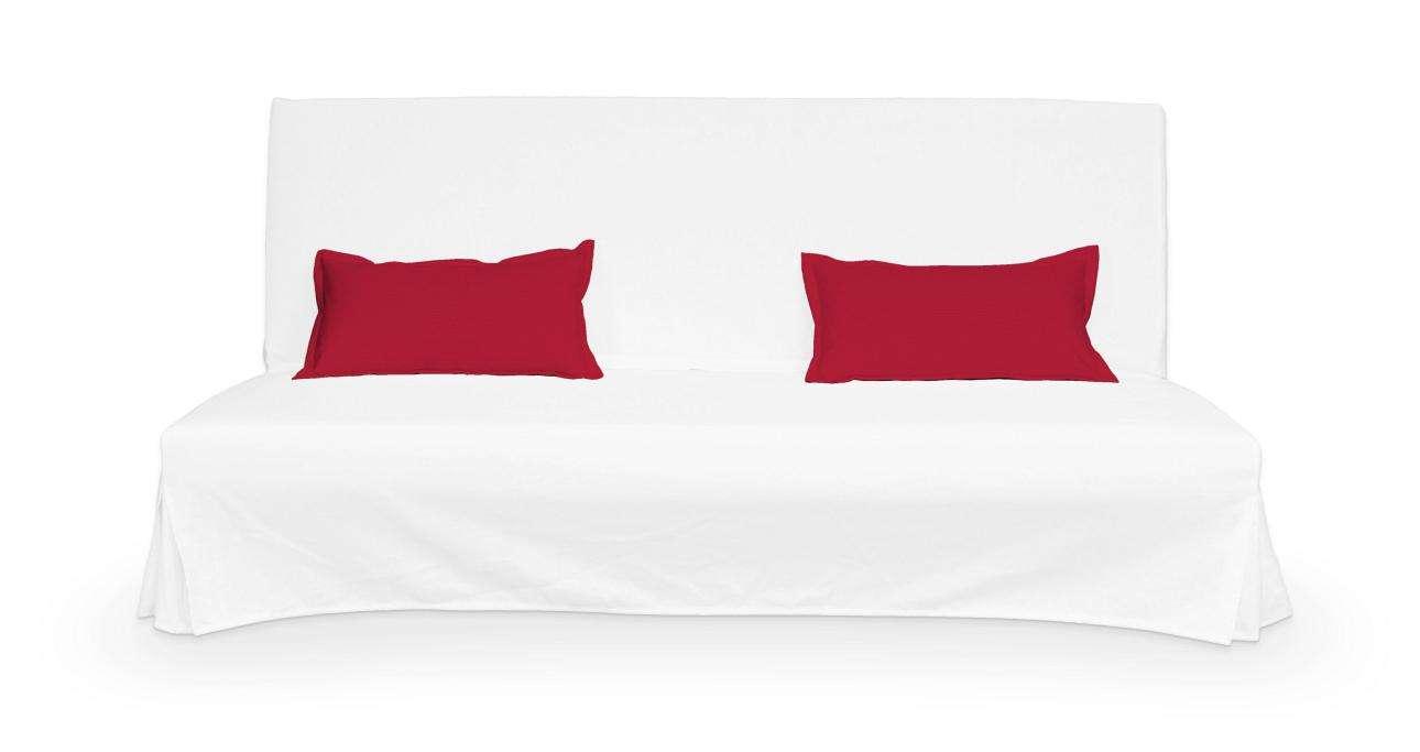 2 potahy na polštáře pohovky Beddinge - jednoduché bez prošití poduszki Beddinge v kolekci Cotton Panama, látka: 702-04