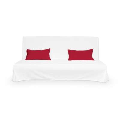 2 poszewki niepikowane na poduszki Beddinge w kolekcji Cotton Panama, tkanina: 702-04