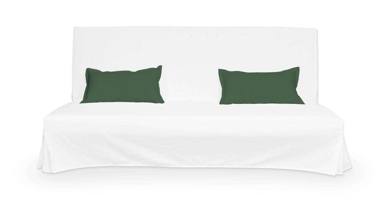 2 poszewki niepikowane na poduszki Beddinge poduszki Beddinge w kolekcji Cotton Panama, tkanina: 702-06