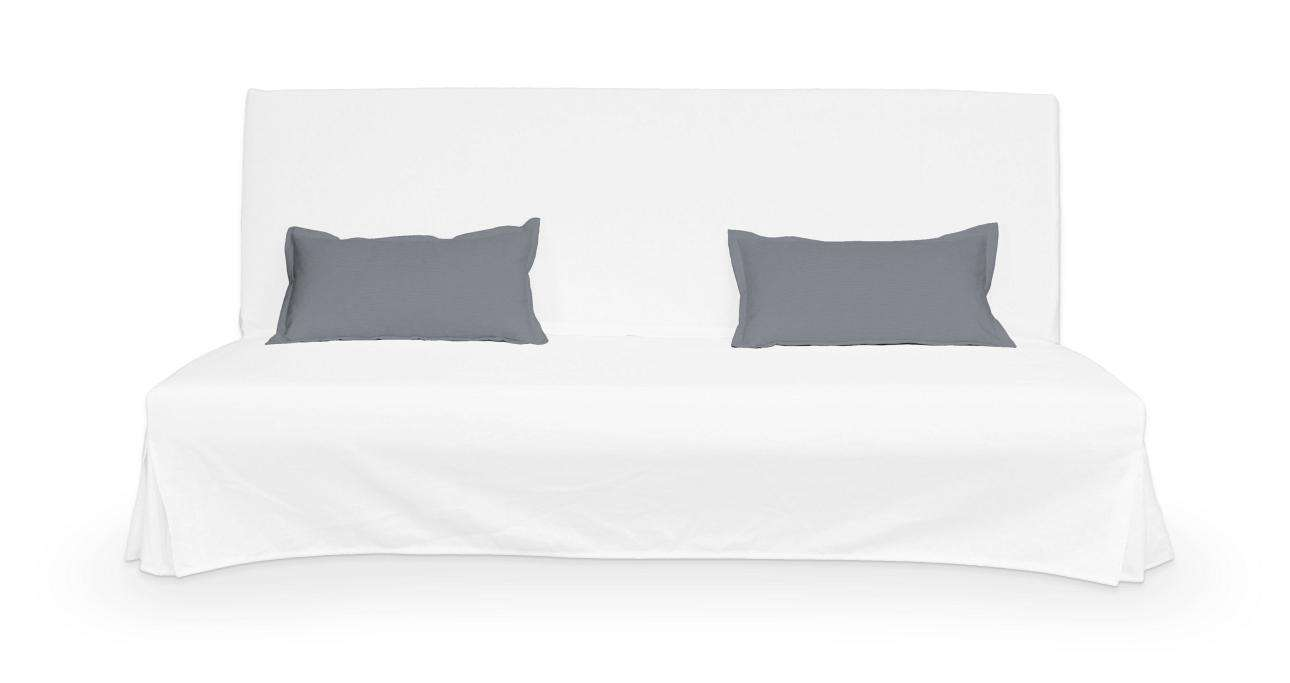 2 poszewki niepikowane na poduszki Beddinge w kolekcji Cotton Panama, tkanina: 702-07