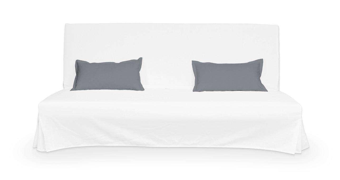 2 potahy na polštáře pohovky Beddinge - jednoduché bez prošití poduszki Beddinge v kolekci Cotton Panama, látka: 702-07