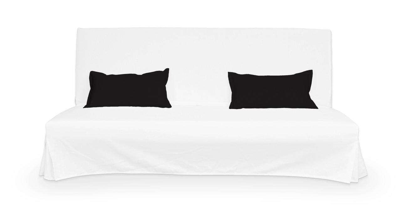 2 poszewki niepikowane na poduszki Beddinge poduszki Beddinge w kolekcji Cotton Panama, tkanina: 702-09