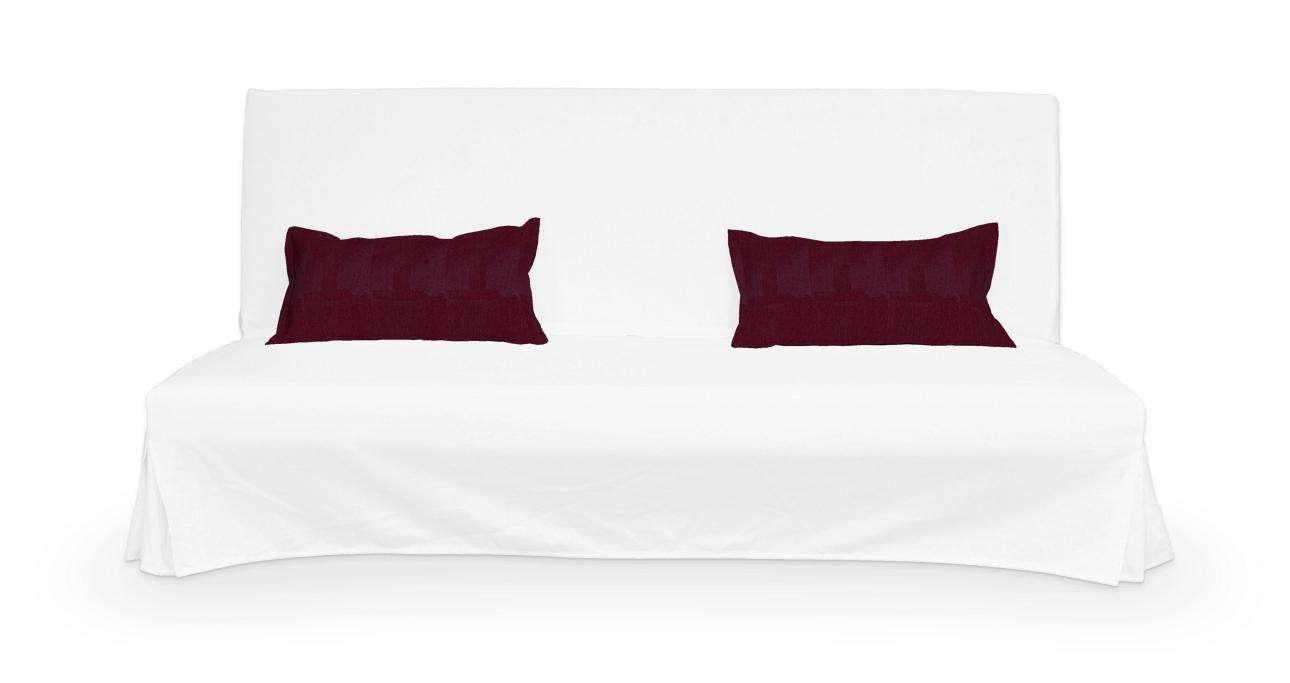 2 poszewki niepikowane na poduszki Beddinge poduszki Beddinge w kolekcji Chenille, tkanina: 702-19