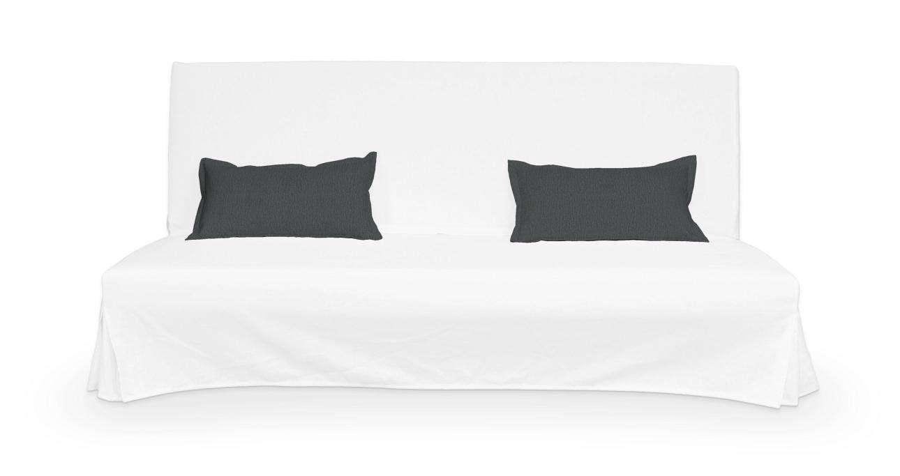 2 poszewki niepikowane na poduszki Beddinge poduszki Beddinge w kolekcji Chenille, tkanina: 702-20