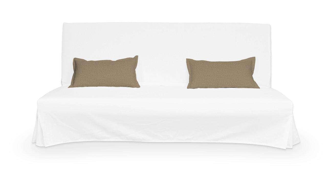 2 potahy na polštáře pohovky Beddinge - jednoduché bez prošití poduszki Beddinge v kolekci Chenille , látka: 702-21